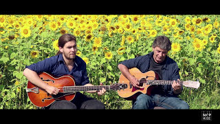 Cape Breton Guitar: Maxim and Gervais Cormier - Rover's Return / Sheepskin and Beeswax (LIVE)