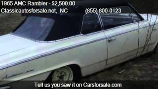 1965 AMC Rambler  for sale in Nationwide, NC 27603 at Classi #VNclassics