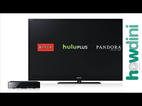 How to StreamWatch Netflix, Hulu and Pandora on Your TV