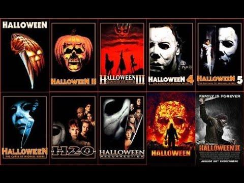 Halloween 1,2,3,4,5,6,7,8,9,10 Trailers 2015