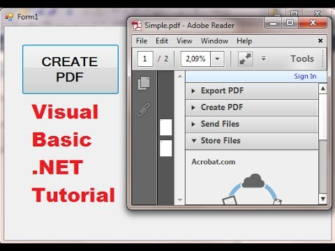 Code For Pdf File In Asp.net C#