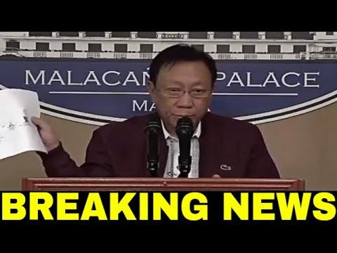 MALACAÑANG FULL PRESS. BRIEFING   JULY 7, 2016 LATEST NEWS