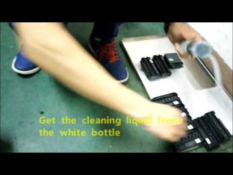 how to keep and clean DX5 /Dika & Xuli printers