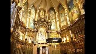 Montserrat Lieu magique d'Espagne Basilique Monastère