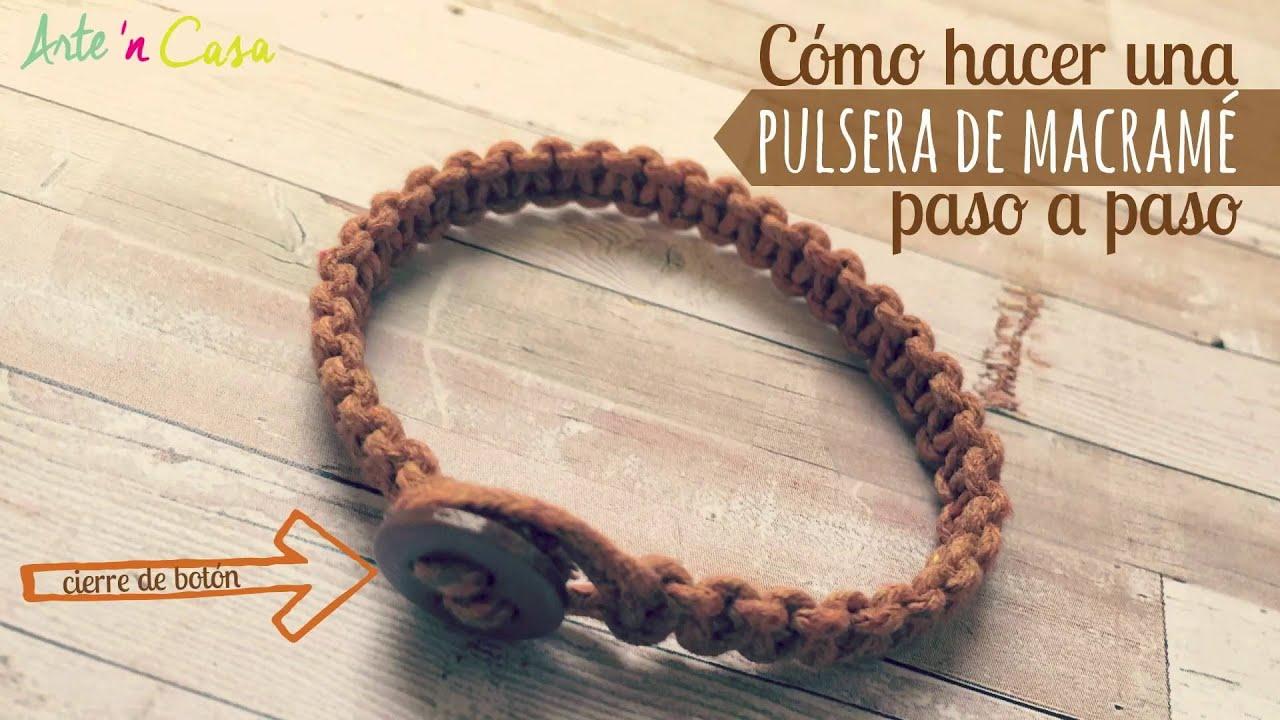56470689f8c5 How to make macrame bracelet