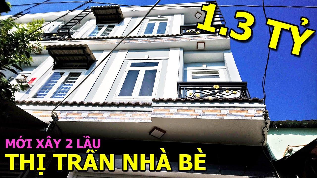 Bán Nhà Nhà Bè Mới Xây 1 Trệt 2 Lầu Thiết Kế Hiện Đại Giá Rẻ ĐSH 4 Căn Chỉ 1 TỶ 3  Tường Nguyễn