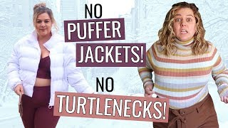 """Breaking Every Plus Size Fashion """"Rule"""" For a Week 2 (winter edition)"""