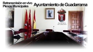 15/06/2019 Emisión en directo de Ayuntamiento de Guadarrama