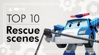 Robocar Poli Top 10 Rescue Scenes | Robocar Poli Special