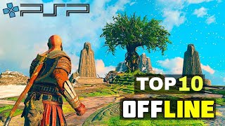TOP 10 PPSSPP Games for Android | High Graphics |