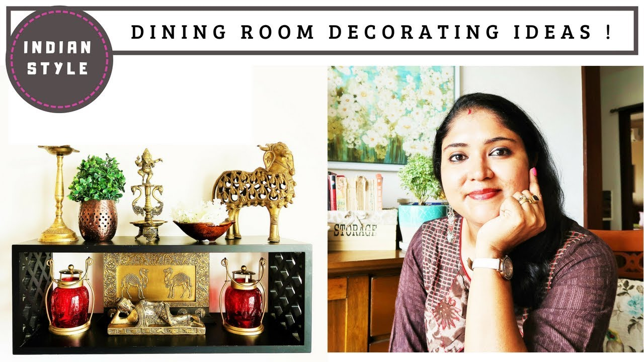 Indian Dining Room Decorating Ideas / How To Decorate Small Dining Room