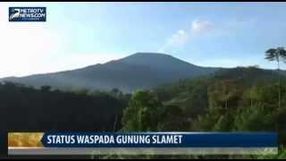 Berita Terbaru Hari Ini - Status Waspada Gunung Slamet 28 April 2014
