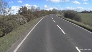 12th may wimblington bypass cambs hgv driving at 50mph and car pulls out