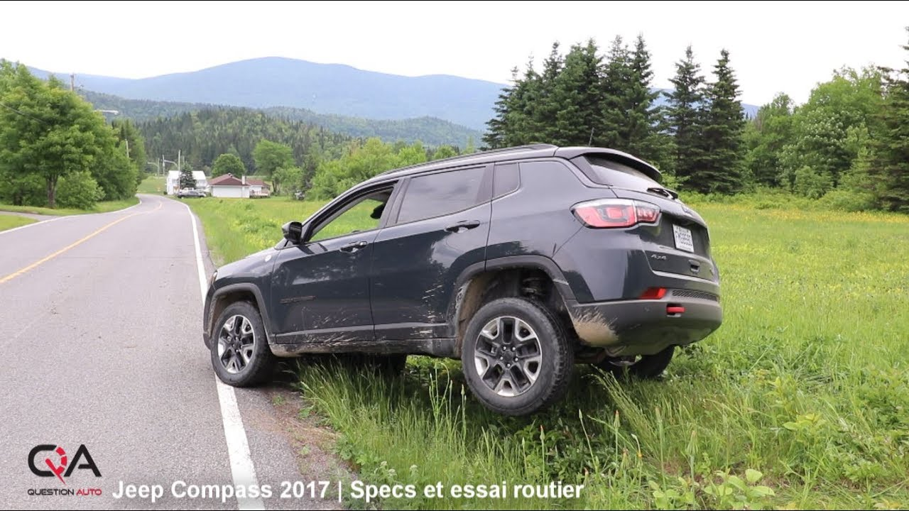 2017 jeep compass specs et essai routier essai complet 3 10 youtube. Black Bedroom Furniture Sets. Home Design Ideas