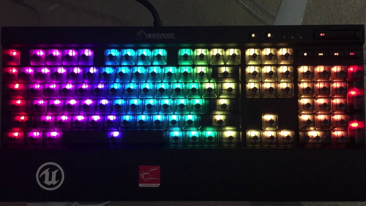 Corsair RGB Profile Request: Still Rainbow