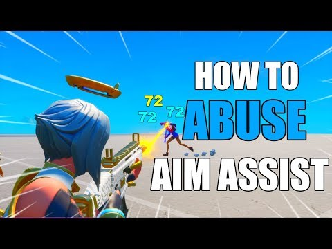 HOW TO *ABUSE AIM ASSIST* IN FORTNITE SEASON 2! FORTNITE HOW TO AIM BETTER! (PS4 & XBOX)