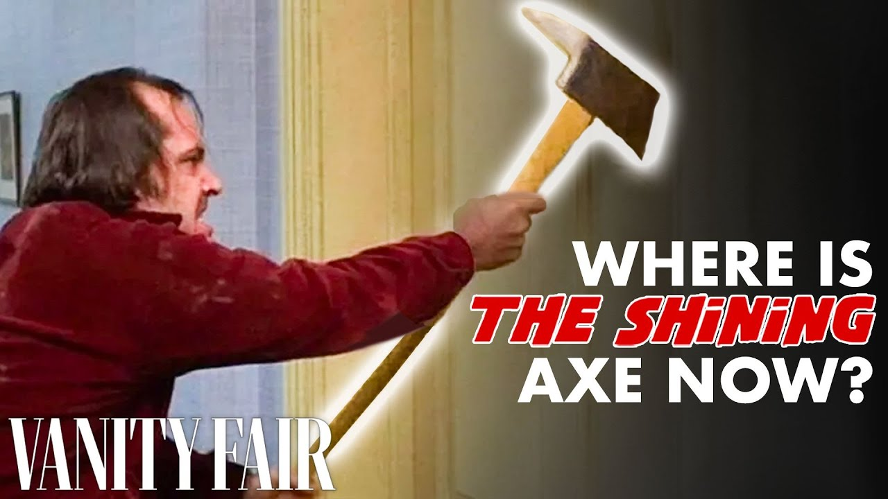 We Found Jack Nicholson's Axe From 'The Shining'
