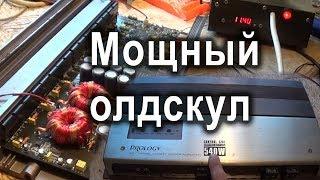 Самовосстановление усилителя Prology Control 3202 (Dragster DAB 2160)