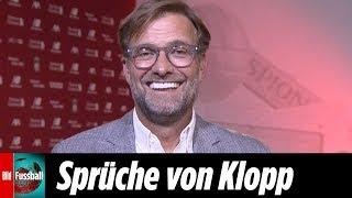 """Klopps Sprüche-Feuerwerk: Als """"Trainer des Jahres"""" mit Sport BILD-Award geehrt!"""
