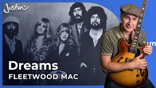 Fleetwood Mac - How to play Dreams Guitar Lesson - Easy Acoustic Beginner Song