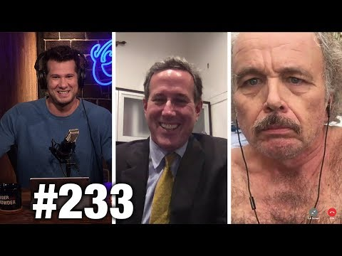 #233 FREE SPEECH WEEK RIOTS! Rick Santorum, Clint Howard and Ann McElhinney | Louder With Crowder