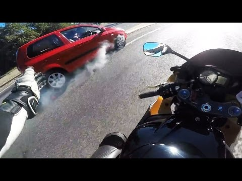 Thumbnail: Stupid, Crazy & Angry People Vs Bikers | Bad Drivers Caught On Go Pro Ep [#114]