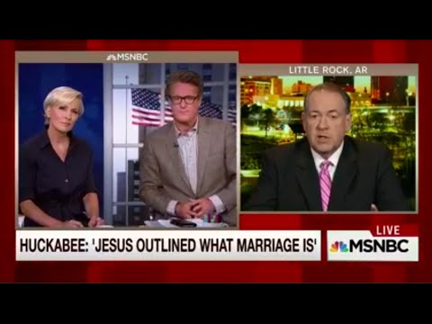 Mika Brzezinski Destroys Mike Huckabee on Kim Davis