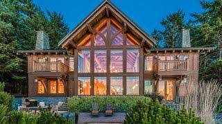 Tofino, Vancouver Island BC Oceanfront Luxury Home
