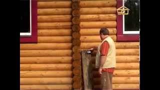 Деревянные дома из оцилиндрованного бруса. Технология строительства