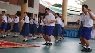 การแสดงวันครู ของพี่ ม 6 ปีการศึกษา 2562