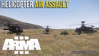 ARMA 3 (PC) - Helicopter Air Assault - AI Tutorial (DUWS Modified)