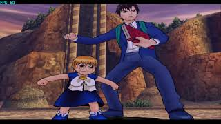 Zatch bell mamodo battles 60fps  zatch\keyo time attack