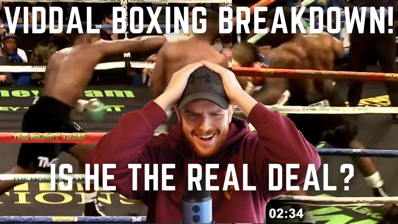 Just How Good is Viddal Riley At Boxing?   Viddal Riley Boxing Breakdown! Is He A Future Champ?