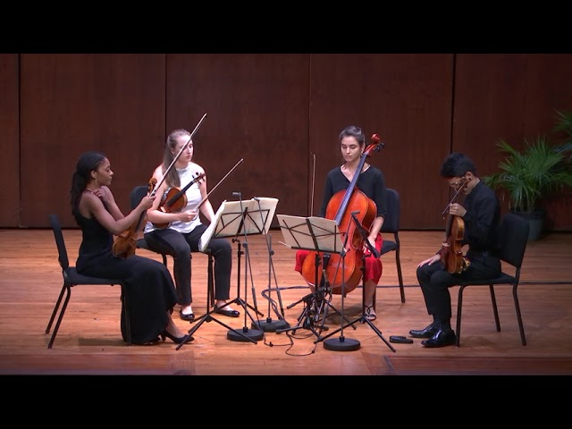 "Haydn String Quartet No. 2 in D minor ""Quinten"", Op. 76"