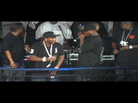 "Young Jeezy performing 'TrapStar"" live at Club Cirque"