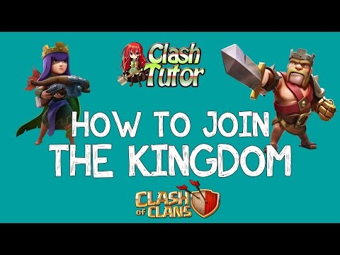 Clash of Clans - How to Join One of My Clans
