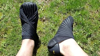 Vibram Furoshiki Wrap Shoe Review
