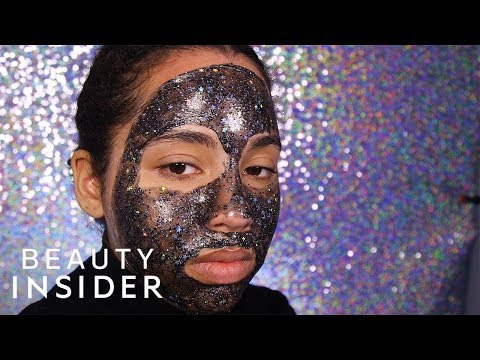 We Tried 3 Glitter Masks From Different Brands And Price Ranges