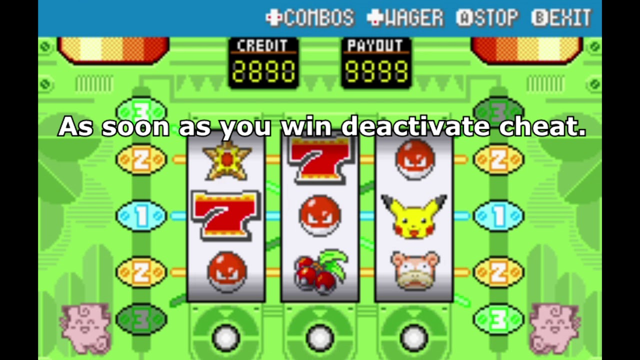 pokemon feuerrot casino trick