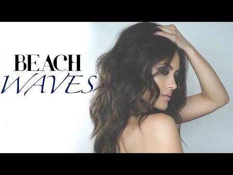 Messy Textured Beach Waves Hair Tutorial | Melissa Alatorre