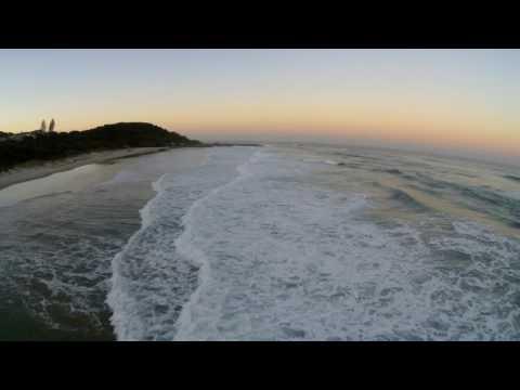Angels Beach, East Ballina, NSW - Through a Drone