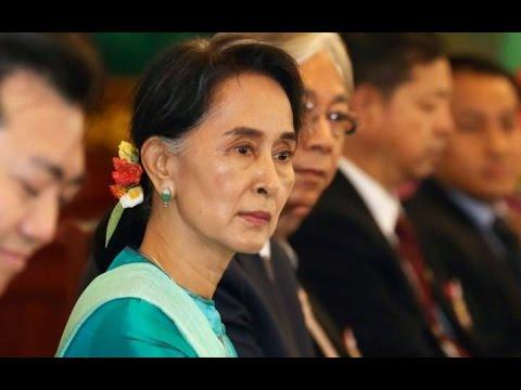 অং সান সু চির নোবেল প্রত্যাহারের দাবি