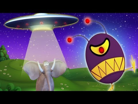 Gazoon: الغريبة UFO | حيوانات مضحكة كاريكاتير | ToBo تلفزيون اطفال