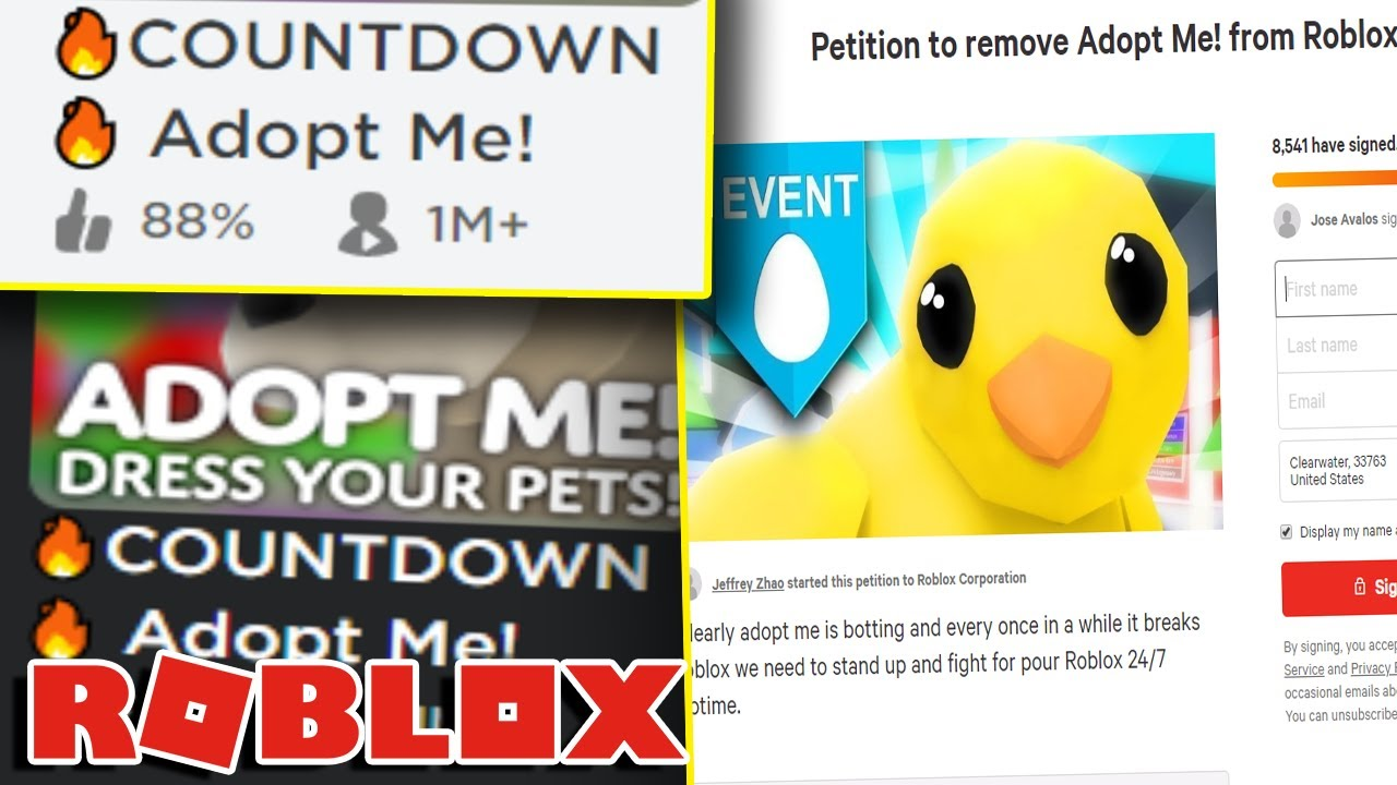 People Want Roblox To Delete Adopt Me It Broke Roblox Youtube