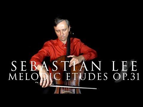 Sebastian Lee, Cello Etude #25, Book 2, Op.31