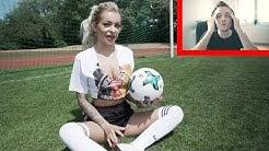 Reaktion auf Katja Krasavice's WM-Video.
