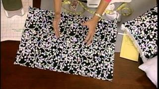 How to sew decorative pillow covers in just a few minutes.