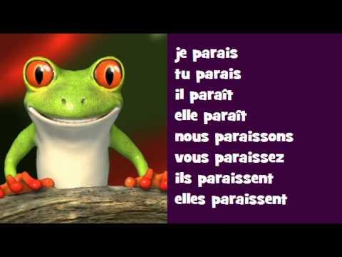 Conjugaison Musicale Indicatif Present Verbe Paraitre Youtube