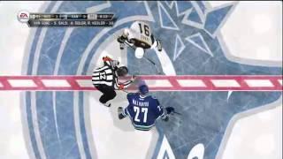 NHL 12 Gameplay - Vancouver vs Boston - HD