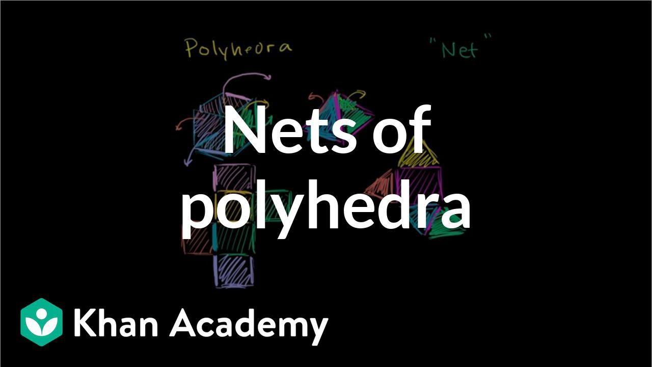 medium resolution of Intro to nets of polyhedra (video)   Khan Academy